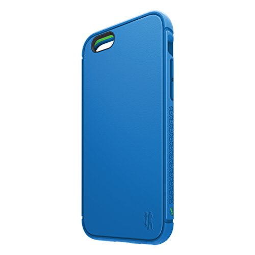 BodyGuardz - Shock Case for iPhone 6/6S, TPU Case with Impact-Absorbing Technology (Blue)