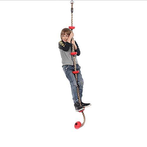 Haooyeah Tree Swing Disc, Disc Monkey Swing Seat, Klettern Verstellbare Seilplatte Rope Swing Round Kinder Swing Seat Starke Disc Swing, für Hinterhof im Freien
