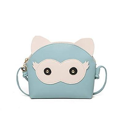 hahashop2 Damen Handtasche Schultertasche Tasche UmhäNgetasche Rucksack für Shopper Bag - Einfache Karikatur Mustert Kleine Quadratische Taschenschulter-UmhäNgetasche