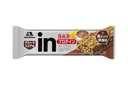 森永 inバー プロテイン グラノーラ ココア味 1本【6個セット】