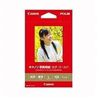 (業務用セット) キャノン Canon純正プリンタ用紙 写真用紙・光沢 ゴールド GL-101L100 100枚入 【×3セット】