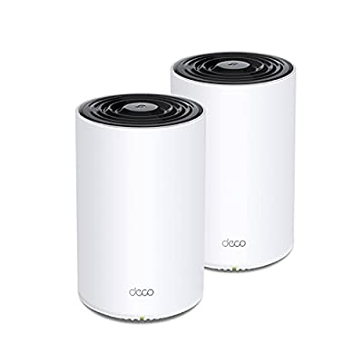 TP-Link Deco Tri Band Mesh WiFi 6 System(Deco X68) - Covers up to 5500 Sq. Ft.Whole Home Coverage, Replaces Wireless Routers and Extenders, 2-Pack