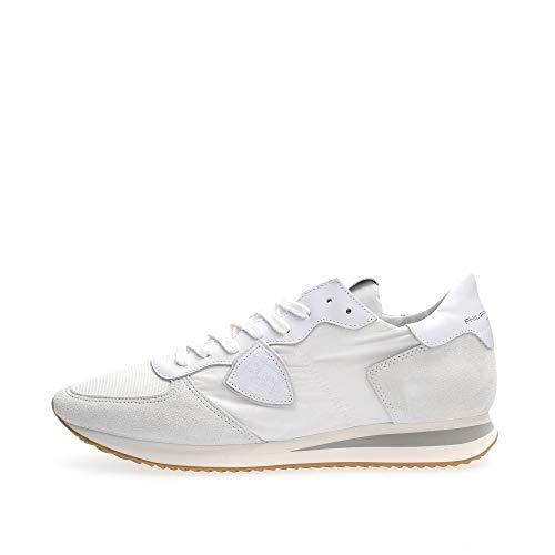 Philippe Model Herren trpx Sneaker Blanc 41 EU