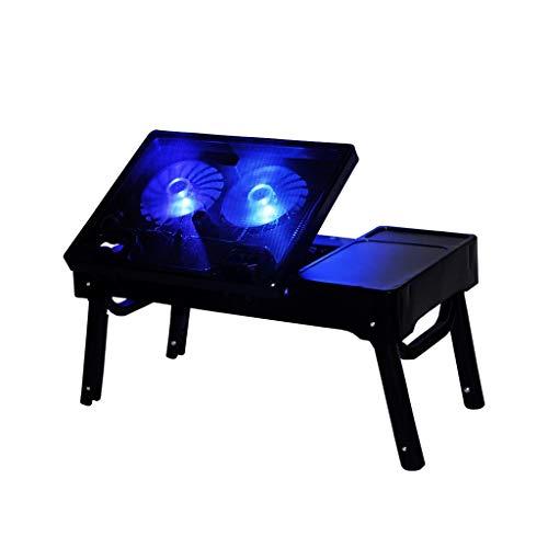 MSF klaptafel opvouwbare laptop tafel draagbare computer warmte wastafel bed lade tafel bureau staande bureau, belasting 50kg, 55 * 38 * 30cm