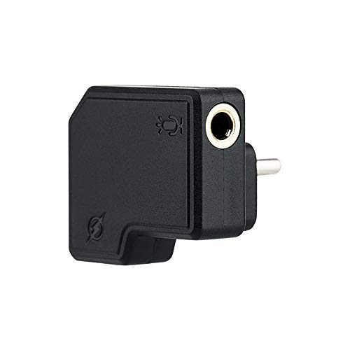 Adaptador JJC de 3,5 mm/USB-C - Adaptador USB C a conector de audio de 3,5 mm para DJI Osmo Action...