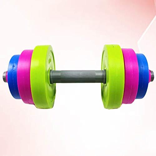 VOSAREA Verstellbare Hantel für Kinder Kinder Langhantel Spielzeug Gewichtheben Trainingsgeräte für Kinder Anfänger Fitnessstudio Home Workout Fitness