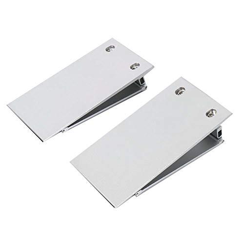 JLXJ Rampas Aluminio Rampa para Silla de Ruedas para el Umbral de Transición, Escalón, Acera, Entrada, Plegable Portátil Altura Ajustable Rampas Ligeras