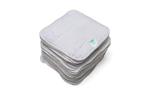 Cheeky Wipes Lot de 25 lingettes réutilisables en tissu-éponge