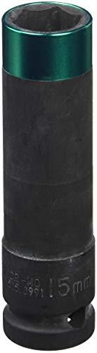 KS Tools 515.0991 Vaso de impacto para llantas de aluminio (15 mm, 1/2'), 15mm