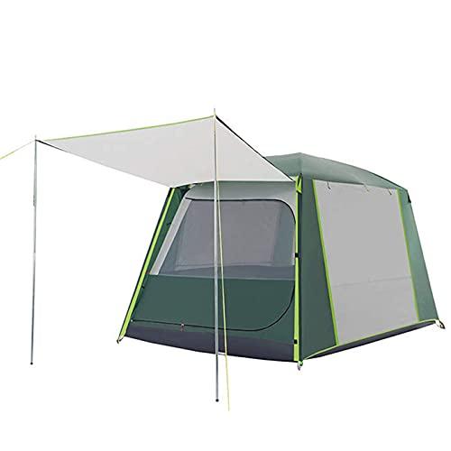 WLDOCA 4 Persona Camping Familia Tienda Impermeable Easy Configure Tienda de cúpula Ligera para Senderismo Mochilero de Montañismo