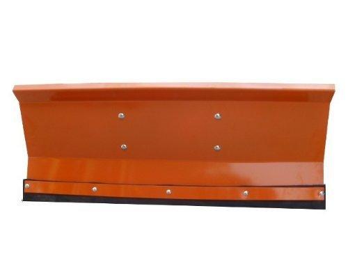Schneepflug Schneeschild Räumschild Orange gekantet mit Universalhalterung/Breite: 175 cm/Höhe: 40 cm / 3-stufig verstellbar/für Einachser Rasenmäher-Trecker