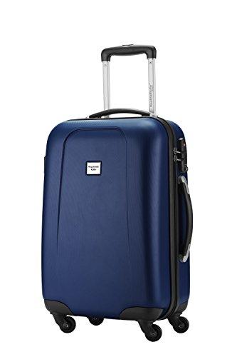 Bagaglio a mano capitale valigetta rigida serie Wedding 42litri con TSA in 9diversi colori inkl. Cultura borsa in rosso bianco Dunkelblau s