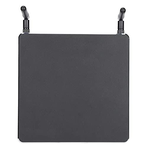 Mini PC, 8GB + 256GB SSD Bluetooth 4.1 PC de escritorio con Intel Core i3, 4 puertos USB, VGA, puertos HDMI Soporte de ventilador de enfriamiento de bajo ruido 2.4GHz / 5GHz Windows 10(EU Plug )