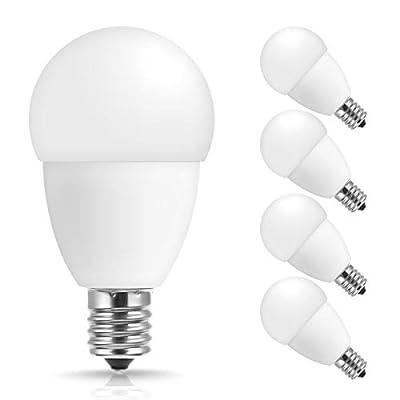 JandCase E17 LED Bulb,Intermediate Base, Not Dimmable