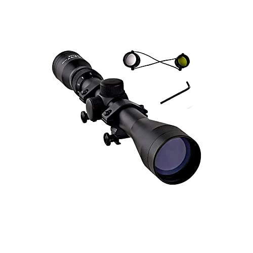 SVBONY SV120 Rifle Scope Hunting Long Range 3-9x40 Rifle Scopes R4 Crosshair Reticle for Waterproof Shockproof with 20mm Free Ring Mounts