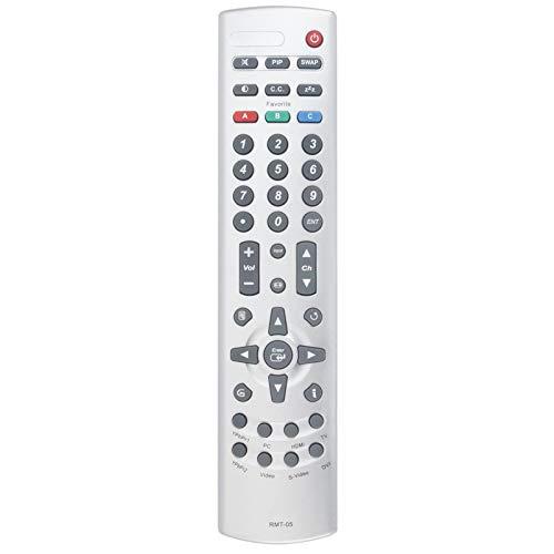 RMT-05 - Mando a distancia para televisor LCD Westinghouse W3213 HD TX47F430S TX-52H480S SK-40H520S SK-42H330S SK-32H510S SK-26H540S SK-26H730S LTV-46w1 27W7 HD TX-42F430S VK-42F240S SK-32H