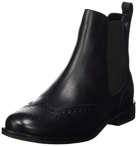 Superdry Damen Millie Brogue Chelsea Boot Stiefeletten, Schwarz (Black 02a), 37 EU