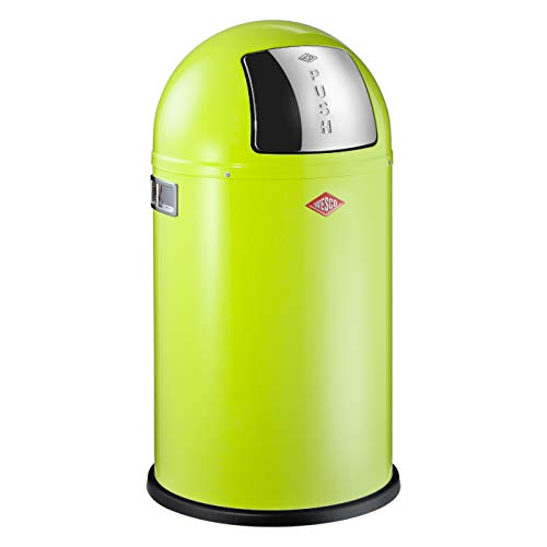 Wesco Abfallsammler Pushboy Junior 22 Liter limegreen