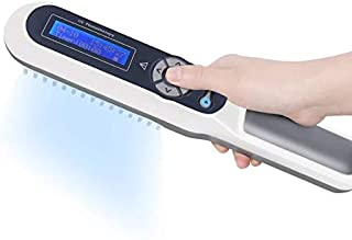 Home UV Phototherapy Lamp Light Therapy with LCD Digital Timer Goggle Gift Narrowband UV-311nm