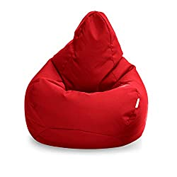 【 ERGONOMICALLY DESIGNED 】This bean bag is great for hours of gameplay or just simply watching a movie without compromising your body posture, this is because the beanbag is ergonomically designed to contour to your body shape allowing maximum comfor...