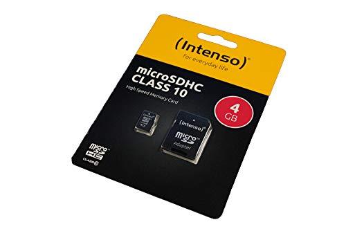 Lenovo Tab M10 Scheda di memoria microSDHC 4GB, Class 10, Full HD, adattore SD
