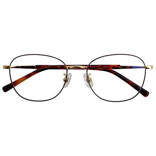 SHOWA ブルーライトカット 中近両用メガネ ブランシック クラシック cl-3066 (レディースセット) 全額返金保証 ブルーライト カット 老眼鏡 おしゃれ レディース 女性 メガネ 眼鏡 パソコン PC メガネ リーディンググラス (瞳孔間距離: