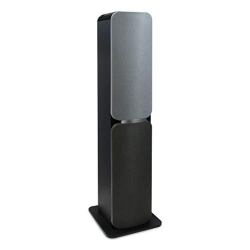 Metronic 477093 - Altavoz portátil Bluetooth, Mini Columna, Torre de Sonido, Toma USB Play & Charge, 140W, Toma Audio Jack 3,5mm, Toma SD Card, Ajuste de Bajos, Altura 85cm