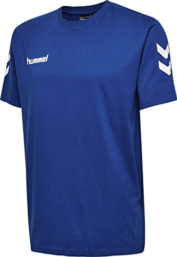 hummel Herren HMLGO Cotton T-Shirts, True Blau, L