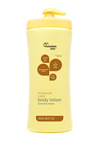Mountain Falls Moisture Care: Body Lotion, Essential Renew, Pump Bottle, 24.5 Fluid Ounce (Pack of 4)