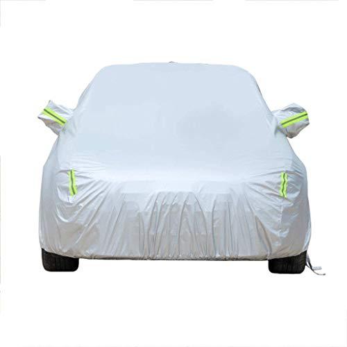 mächtig der welt Autoabdeckung kompatibel mit Hyundai Ioniq-Anschluss Autoabdeckung Externe Staubschutzabdeckung Oxford-Stoff…