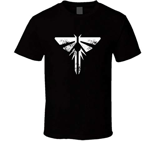 Firfly Logo T-Shirt Sci-Fi TV Movie Geek Shirts Distressed Image Gr. 56, Schwarz