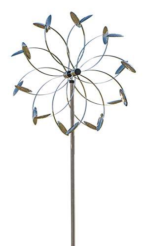 ERRO Wind Flower St Winddancer – Décoration de Jardin en Cadeau, Wind Dancer Carillon éolien Décoration de Jardin