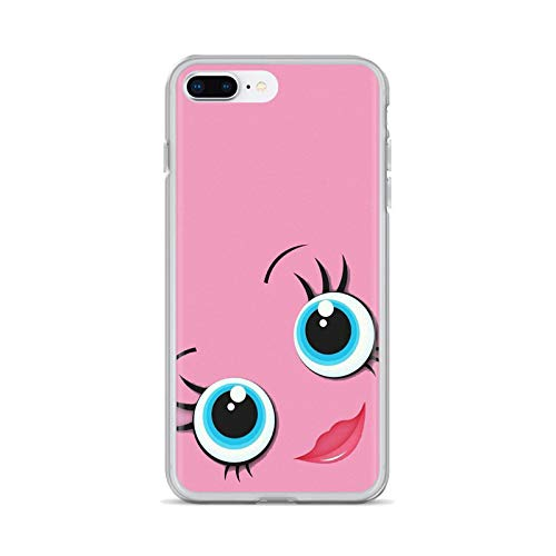 eyelash Pattern Girls Makeup Soft Cases Cover For iPhone iPod Touch 11 12 Pro 4 4S 5 5S SE 5C 6 6S 7 8 X XR XS Plus Max 2020-images 6-For iPhone XS Max