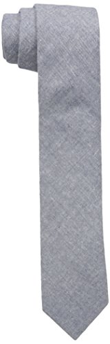 Original Penguin Men's Coco Chambray Solid Tie, Navy, One Size