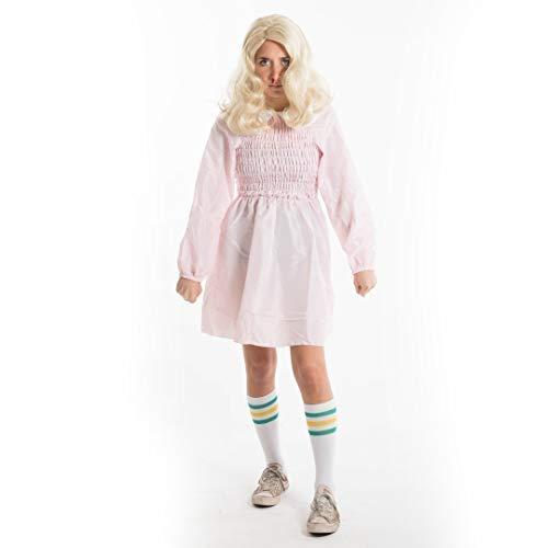 Bodysocks® Eleven Kostüm für Mädchen (Socken enthalten) (Groß)