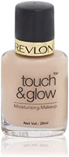 Revlon Touch And Glow Moisturising Makeup, Natural Mist, 20ml