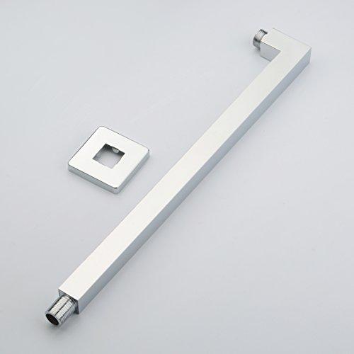 Parete in ottone montato braccio doccia per soffione doccia 2.5 ¡Á 2.5 ¡Á 41 cm