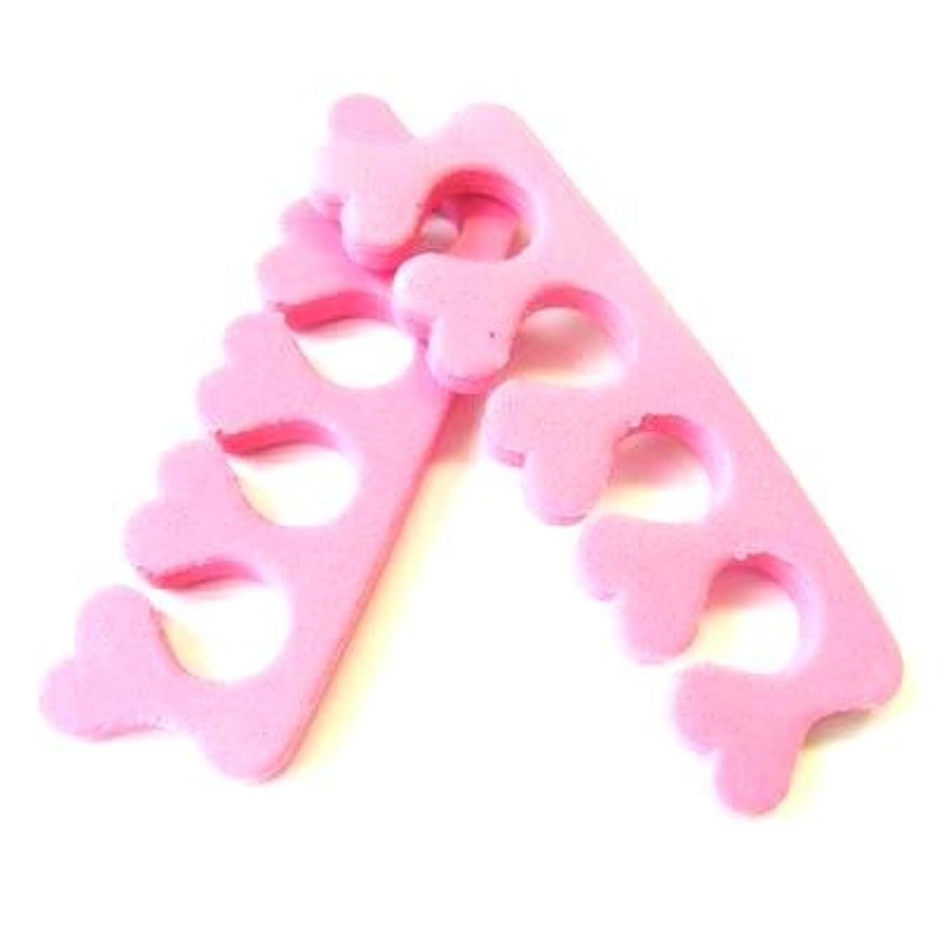 回転させる役に立たないジョージバーナードトゥセパレーター キュートなハート型 (ピンク)