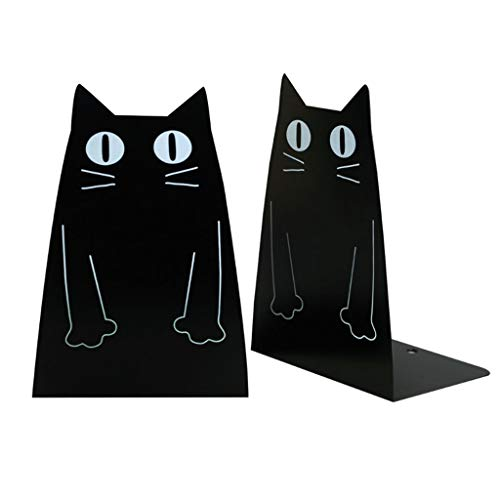 1 Paar Leuke Kat-Rabbit-Shapped Bookend for School & Office Antislip boekensteunen Art DecorationFor Kinder Gift (Color : D)