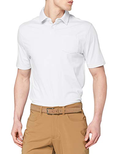 Under Armour CC Scramble Chemise Polo Homme Blanc FR : 2XL (Taille Fabricant : XXL)