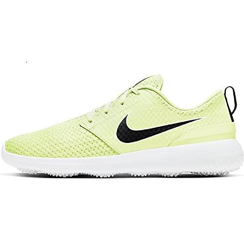 Nike Roshe G Zapatilla de Golf para Hombre (Barely/Volt-Black/White, Numeric_42)