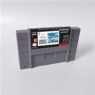Game card - Game Cartridge 16 Bit SNES , Game Tiny Toon Adventures Wacky Sports Challenge - Action Game Card US Version English Language