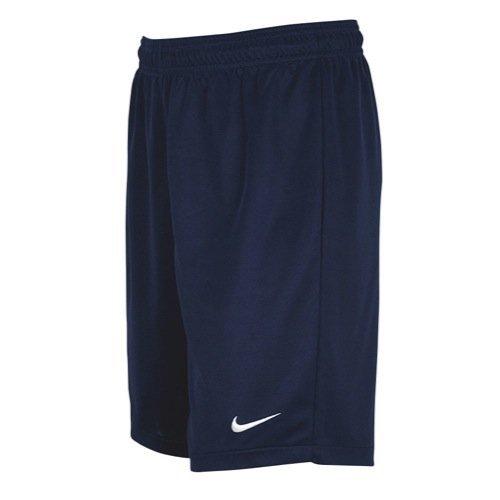 Nike Men's Team Equalizer Soccer Shorts, Navy Blue, Large