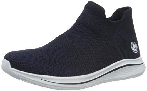 Rieker Damen Frühjahr/Sommer N9862 Sneaker, Blau (Pazifik 14), 38 EU
