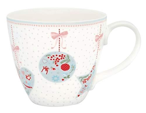 GreenGate - Tasse, Becher - Sandie - White - Weihnachten - Porzellan - 300ml