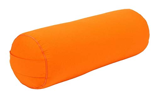 Yogabox Yoga und Pilates Bolster/Yogakissen Made in Germany, orange