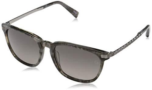 Ermenegildo Zegna Sonnenbrille EZ0039 Gafas de sol, Gris (Gr), 54.0 para Hombre