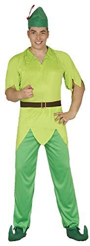 Fancy Me Herren Green Lost Boy TV-Buch Film World Book Day Karneval Kostüm Outfit
