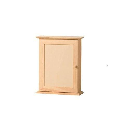 Artemio Schlüsselkasten, Holz, Beige, 20x 7x 26cm