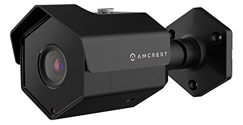 Amcrest UltraHD 5MP Outdoor POE Camera 2592 x 1944p Bullet IP Security Camera, Outdoor IP67 Waterproof, 104° Viewing Angle, 2.8mm Lens, 98ft Night Vision, 5-Megapixel, IP5M-1173EB (Black)